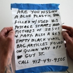 Marc Dombrosky, ARE YOU MISSING A BLUE PLASTIC BOX,