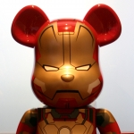 Bearbrick figure, Collection of Ruth & Jake Bloom