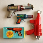 Vintage rayguns, Jeri L. Wolfson Collection