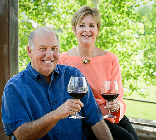 2015 Wine Auction Chairs, David and Trish Wilson
