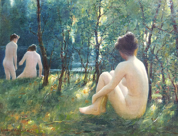 Mark Landis, Bathers in the style of Lionel Walden (1861-1933), 2013
